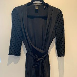 Wrap dress Maison Scotch